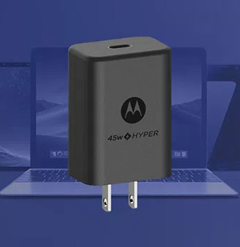 Advanced USB-PD 3.0 charging allows for fast charging of high powered USB-C laptops, phones, and devices