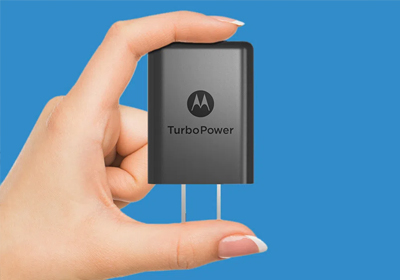 Advanced charging, significantly smaller than comparable chargers.