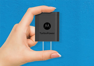 Don't let it's small size fool you. The TurboPower 18 doesn't sacrifice power or charging speed.