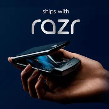 The bold, stylish charging companion to the new motorola razr.
